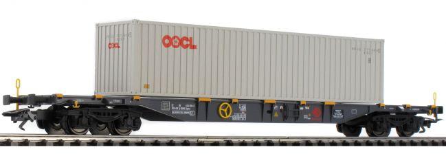 ausverkauft | märklin 47058 Container-Tragwagen Sgnss Ermewa SA | Spur H0