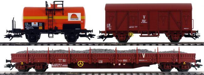 märklin 47103 Güterwagen-Set Bauzug Colas Rail | Spur H0