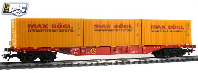 märklin 47132 Containertragwagen Sgns 691 Max Bögl DB | Spur H0