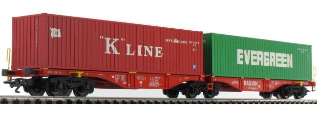 märklin 47800 Doppel-Containertragwagen Sggrss 80 Railion DB | Spur H0