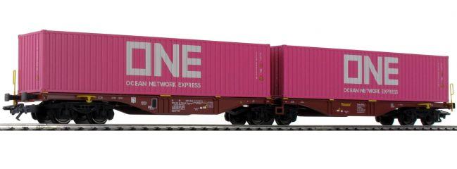 märklin 47808 Doppel-Tragwagen Sggrss Touax | Spur H0