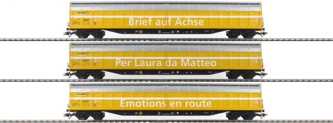 märklin 48062 Schiebewandwagen-Set | DIE POST | WASCOSA Spur H0