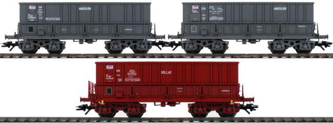 märklin 48436 Schüttgutwagen | 3 Stück | Mineralier | SNCF | Spur H0