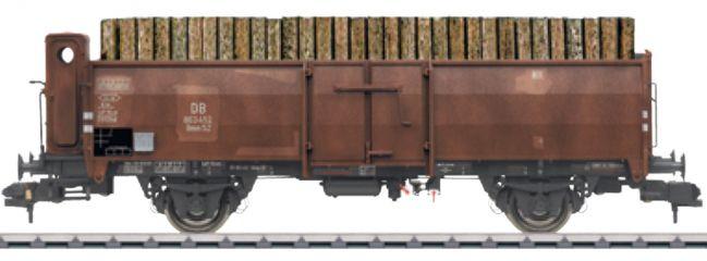 märklin 58309 Off. Güterwagen Omm 52 gealtert mit Bremserhaus DB | Spur 1