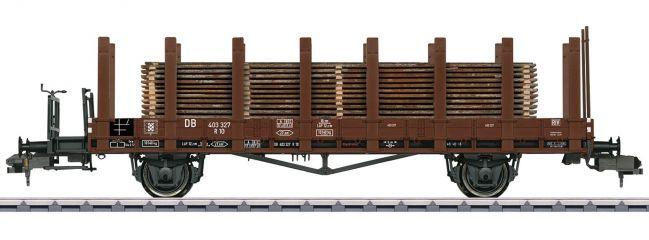 märklin 58422 Niederbordwagen R10 mit Holzstämmen DB   Spur 1