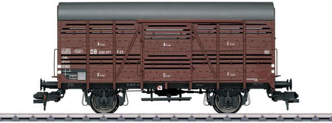 märklin 58902 Güterwagen Viehtransport DB   Spur 1
