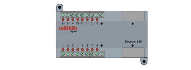märklin 60882 Rückmeldedecoder s 88 Zweileiter