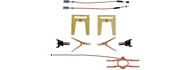 märklin 72021 Stromführende Kurzkupplungen | 1 Set für 1 Paar | Spur H0