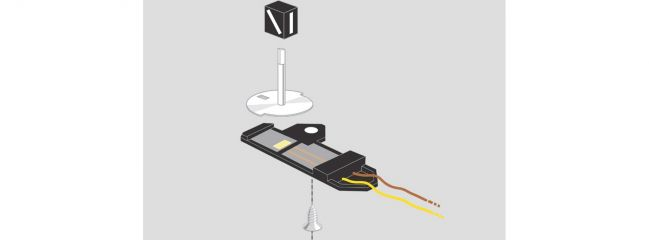 märklin 74470 Weichenlaterne mit LED-Beleuchtung | 2 Stück | C-Gleis Spur H0