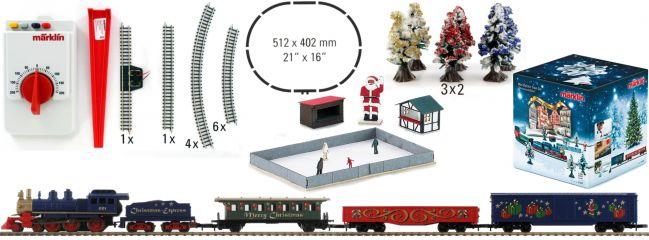 märklin 81845 Weihnachts-Startpackung Dampflok + Güterzug   230V   Spur Z