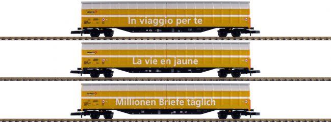 märklin 82417 Schiebewandwagen-Set | Spur Z