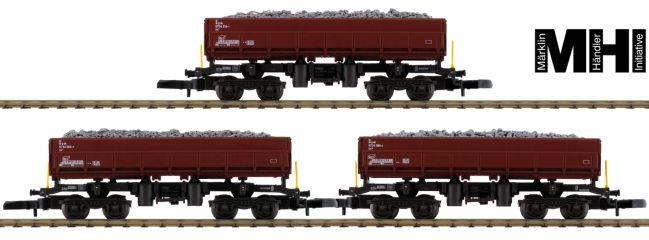 märklin 82436 Wagen-Set Seitenkippwagen DB AG | MHI | Spur Z