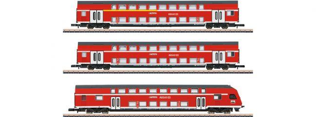 märklin 87297 Doppelstockwagen-Set Höllentalbahn DB | Spur Z