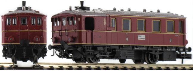märklin 88145 Dampftriebwagen Kittel CidT8 DB | Spur Z