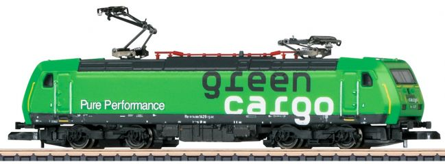 märklin 88484 E-Lok BR 185.2 Green Cargo SJ | Spur Z