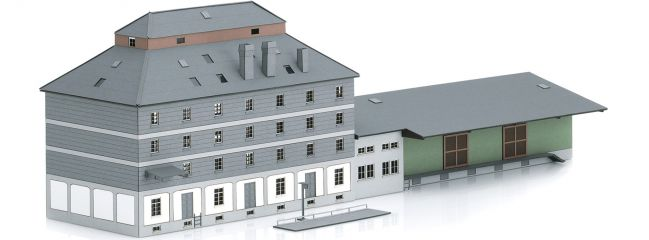 märklin 89705 Raiffeisen Lagerhaus mit Markt | Gebäude Bausatz Spur Z