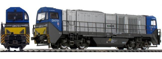 ausverkauft | MEHANO B-WARE 58898 Diesellok G2000 BB | HGK | DC analog | Spur H0