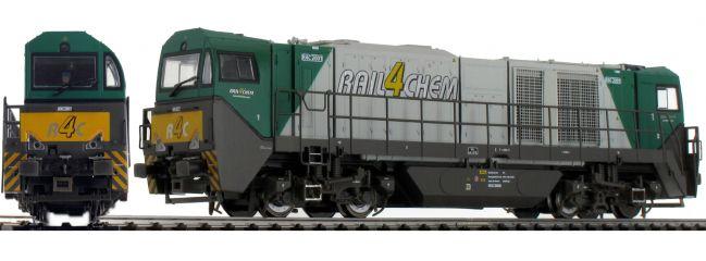 MEHANO 58910 Diesellok G2000 BB, grün | R4C | DC analog | Spur H0
