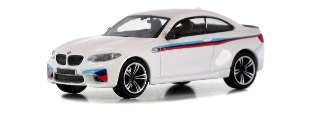 MINICHAMPS 870027006 BMW M2 F87 2016 Presentation-Design Automodell 1:87