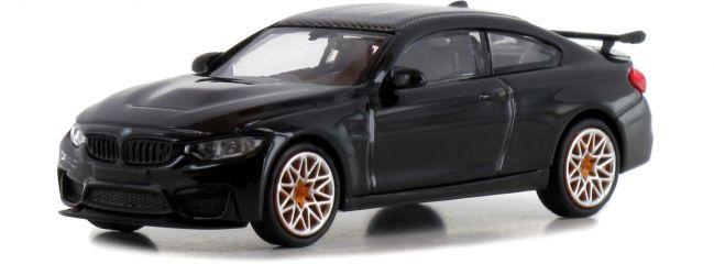 MINICHAMPS 870027102 BMW M4 GTS F82 2016  schwarz mit Felgen orange Automodell 1:87