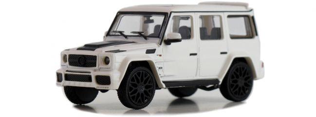 ausverkauft | MINICHAMPS 870037101 BRABUS 850 6.0 Biturbo Widestar, weiß | Modellauto 1:87