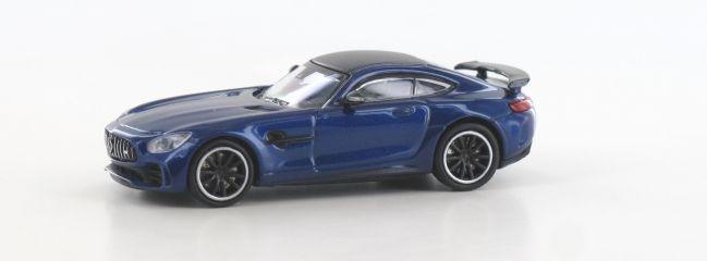 MINICHAMPS 870037221 Mercedes-AMG GT R 2017 dunkelblaumetallic Automodell 1:87