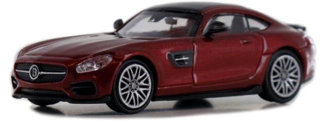 MINICHAMPS 870037321 BRABUS 600 AMG GT S 2015, rot   Modellauto 1:87