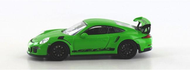 MINICHAMPS 870063224 Porsche 911 GT3 RS 2015 grün schwarz Automodell Spur H0
