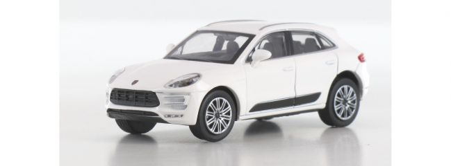 MINICHAMPS 870067000 Porsche Macan Turbo 2013 weiss Automodell 1:87