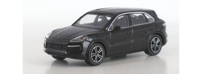 MINICHAMPS 870067201 Porsche Cayenne Turbo  2017 schwarz Automodell 1:87