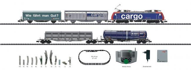 ausverkauft   MINITRIX 11131 Digital Startpackung Schweiz E-Lok Serie 482 SBB Spur N