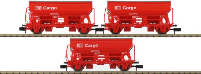 MINITRIX 15098 Seitenentladewagen-Set 3-tlg. Td DB AG | Spur N