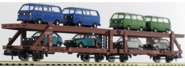 MINITRIX 15441 Wagen Autotransport mit Ladung   DB   Spur N online kaufen