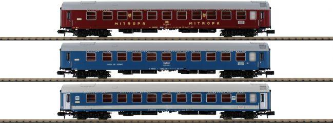 MINITRIX 15996 Schnellzugwagen-Set Balt-Orient-Express DR   Spur N