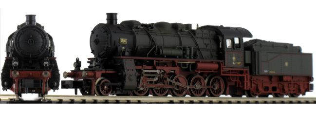 MINITRIX 16582 Schlepptender-Dampflok G 12 KPEV | DCC | Spur N