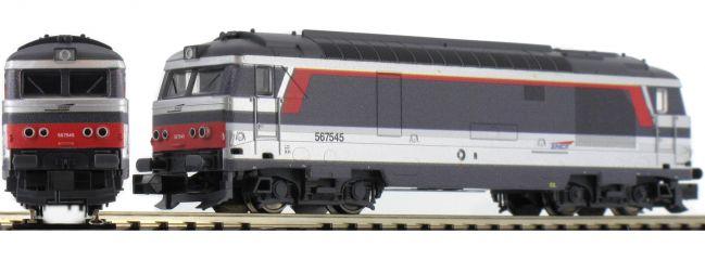 MINITRIX T16704 Diesellokomotive Serie BB 67400 Livree Multiservice der SNCF   Spur N