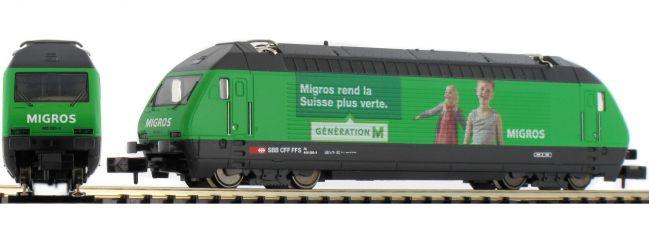 MINITRIX 16763 E-Lok Re 460 Migros SBB | DCC-Sound | Spur N