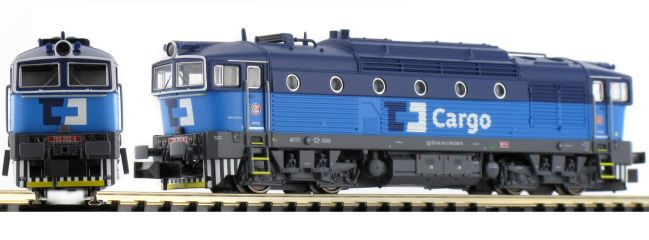 MINITRIX 16732 Diesellok Reihe 750 CD Cargo | DCC-SOUND | Spur N