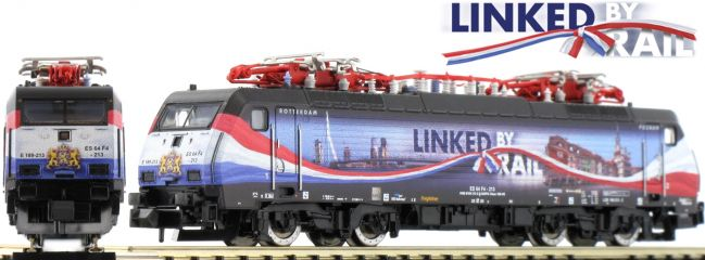MINITRIX 16894 E-Lok BR 189 Linked By Rail der ERS | DCC | Spur N