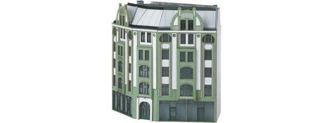 MINITRIX 66309 Großes Eck-Stadthaus im Jugendstil | Bausatz Spur N
