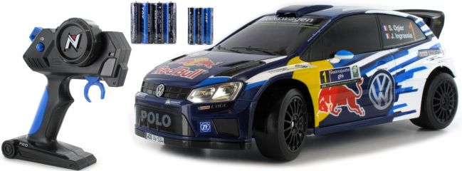 NIKKO 36947 VW Polo WRC Rallye Red Bull RC-Auto | RTR | 2.4 GHZ | 1:16
