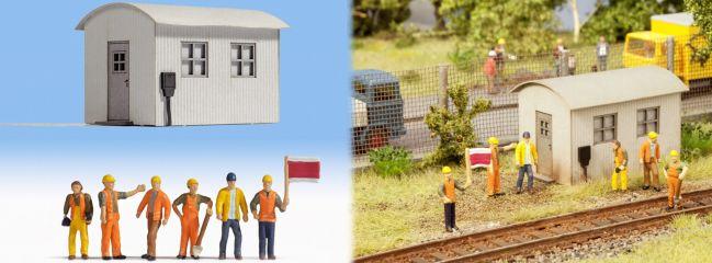 NOCH 12011 Gleisbauarbeiten Fertigmodell Spur H0