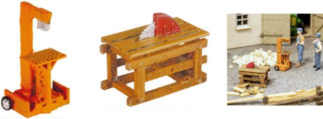 NOCH 13726 Holzspalter und Kreissäge | Spur H0
