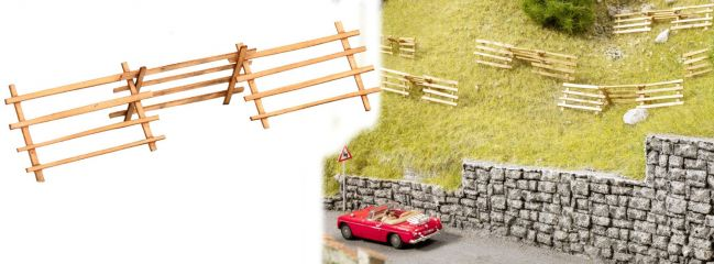 NOCH 14239 LaserCut minis Lawinenverbauung Bausatz Spur H0