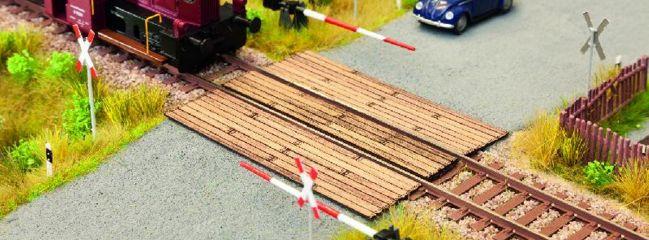 NOCH 14305 Bahnübergang Laser-Cut Bausatz Spur H0