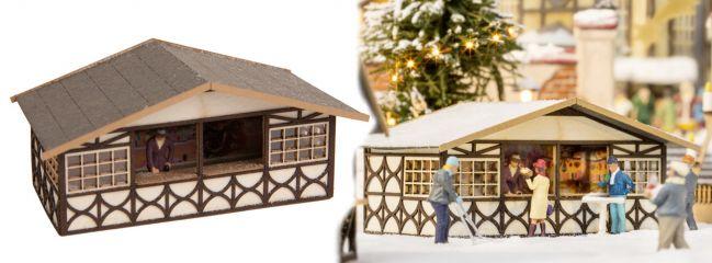 NOCH 14682 Weihnachtsmarktstand LaserCut Bausatz Spur N