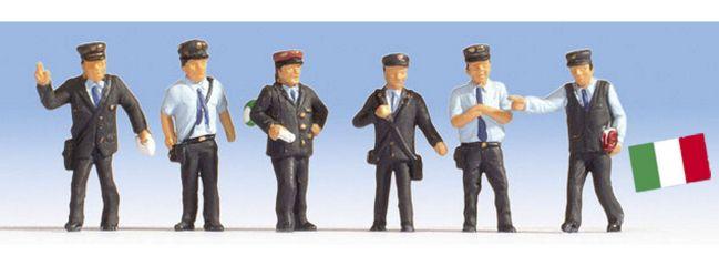 NOCH 15272 Bahnbeamte Italien | 6 Figuren | Spur H0