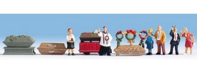 NOCH 15576 Beerdigung Figuren mit Zubehör Fertigmodell Spur H0
