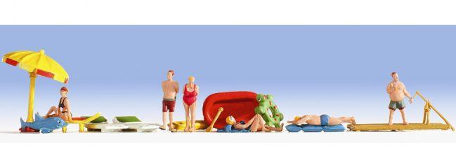 ausverkauft | NOCH 15845 Strandbad Figuren mit Zubehör  Spur H0