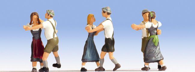 NOCH 15857 Tanzende 6 Figuren Spur H0